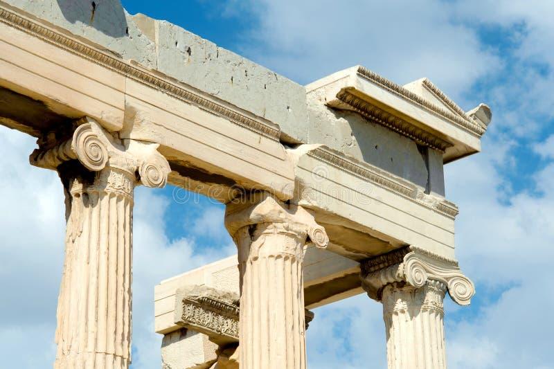 Parthenon sur l'Acropole à Athènes photo stock