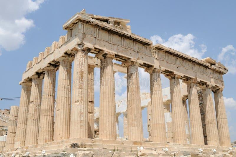 Parthenon, templo antiguo de Atenas, Grecia imagen de archivo libre de regalías