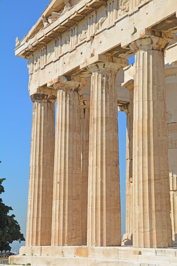 Parthenonen royaltyfria bilder