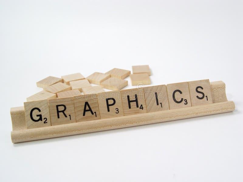 Parti 4 di Scrabble fotografia stock libera da diritti