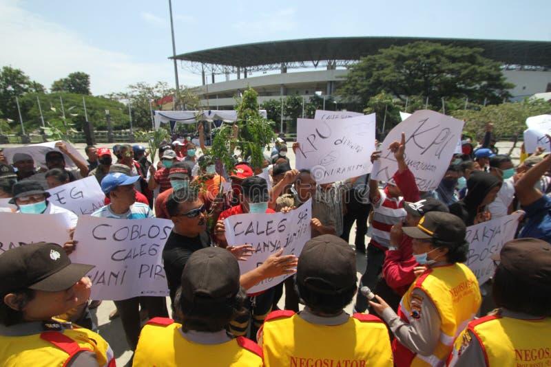 Parti démocrate de malaise d'anticipation photo libre de droits