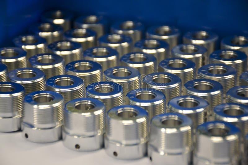 Parti d'acciaio industriali fotografie stock libere da diritti