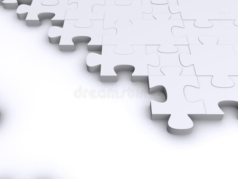 Download Parti di puzzle 3d illustrazione di stock. Illustrazione di cervello - 3880390