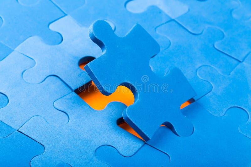 Parti di puzzle immagini stock libere da diritti