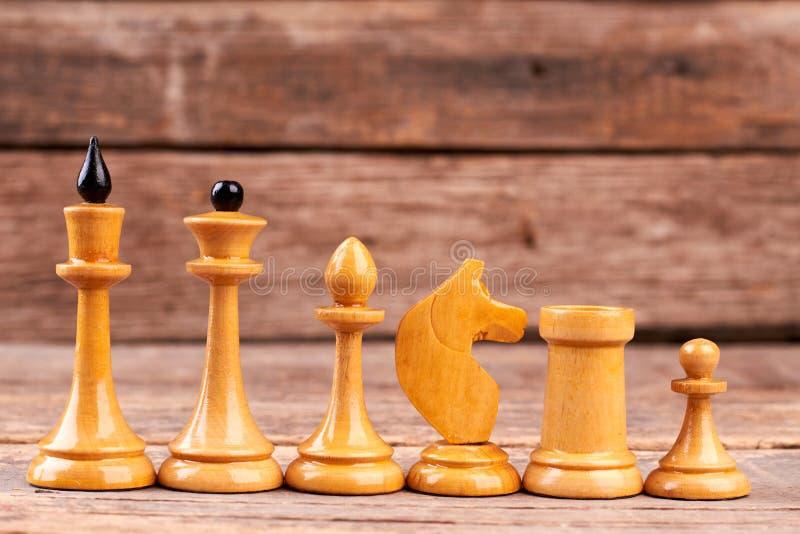 Parti di scacchi bianche per diminuire immagine stock libera da diritti
