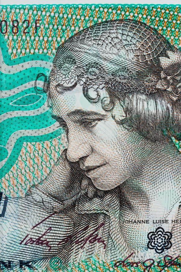 Parti superiori danesi valuta Danimarca fotografia stock