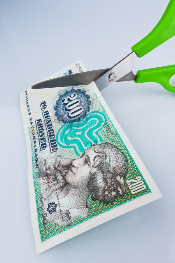 Parti superiori danesi. Valuta della Danimarca immagine stock libera da diritti