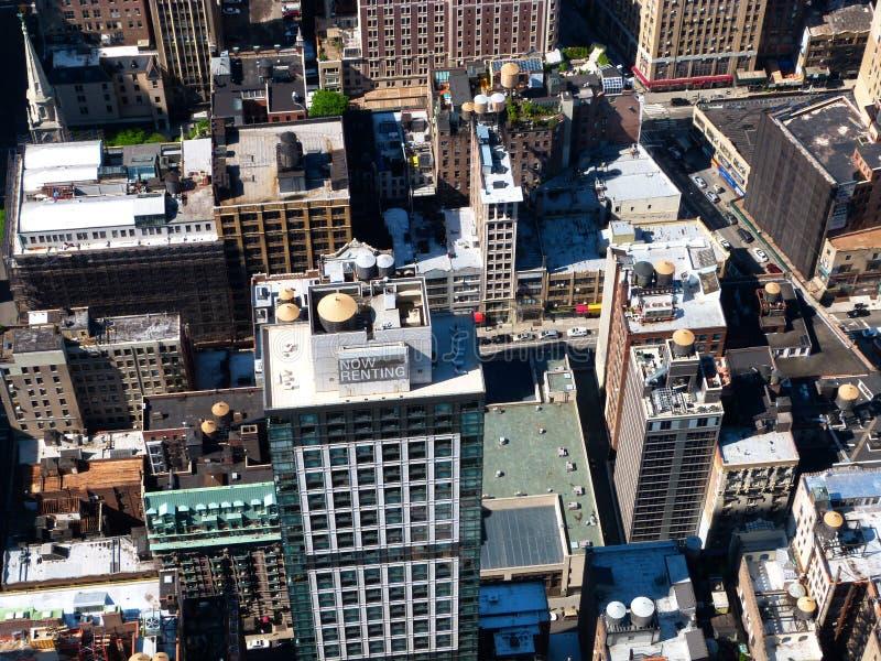 Parti superiori del tetto di New York fotografia stock libera da diritti