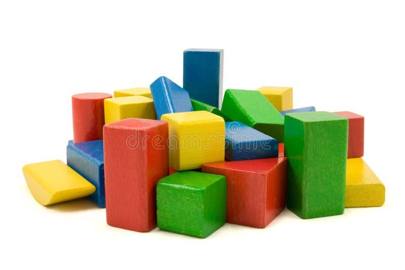 Particelle elementari di legno immagine stock libera da diritti