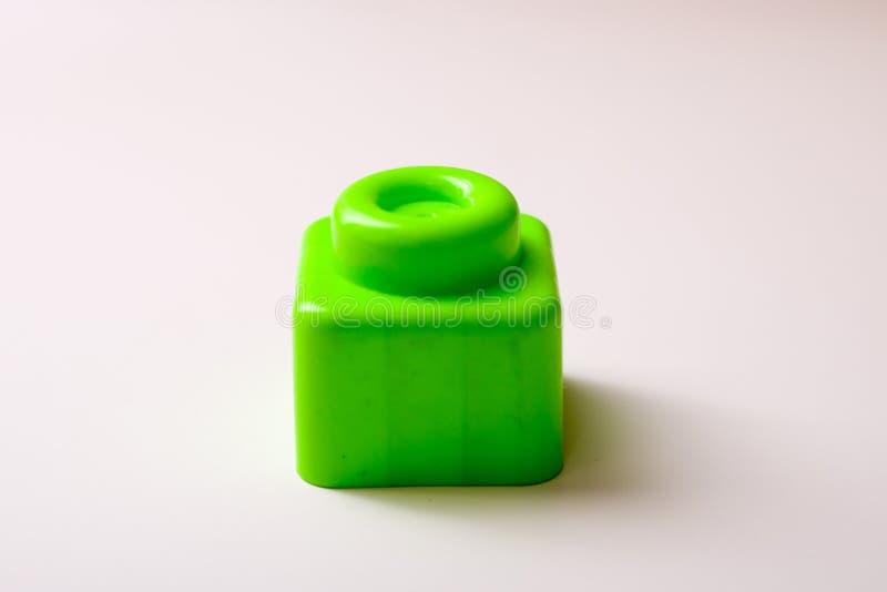 Particelle elementari di Lego fotografia stock