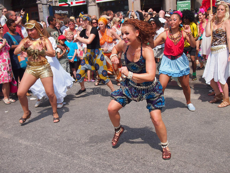 Download Participant At Copenhagen Carnival 2012 Editorial Photography - Image: 24995547