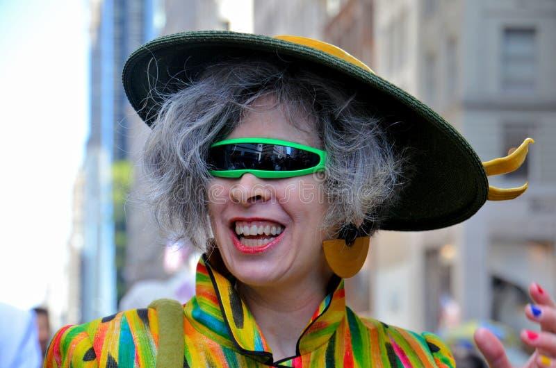 Participant de défilé de Pâques photo stock