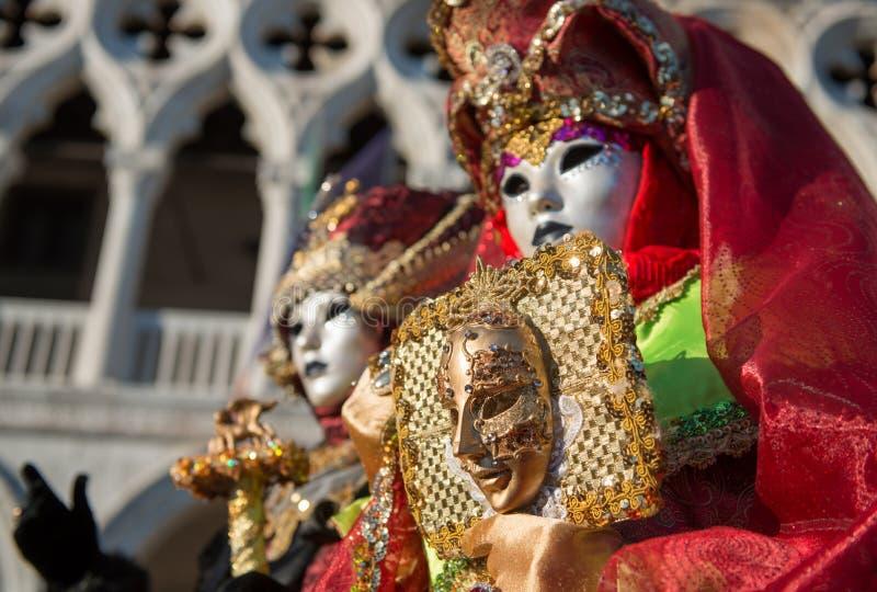 Máscara do carnaval em Veneza imagem de stock royalty free