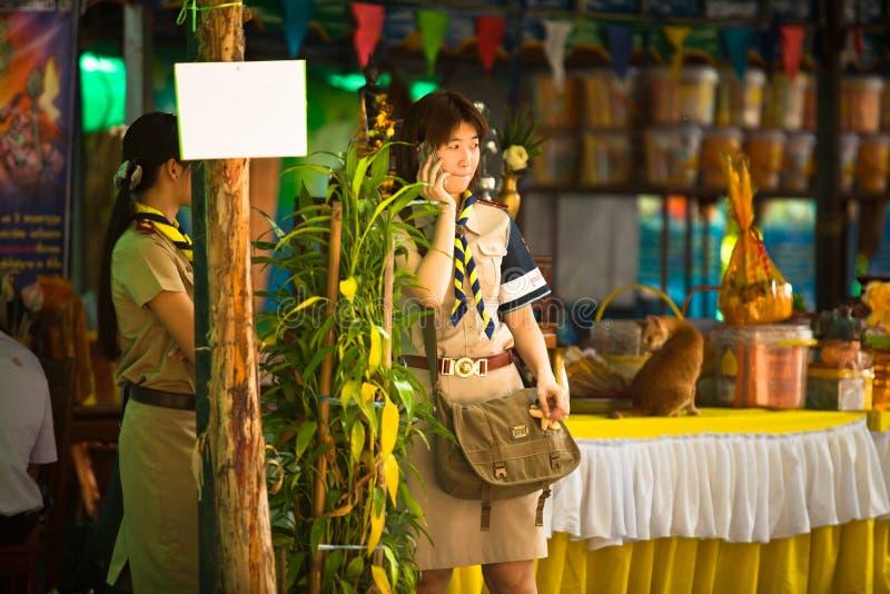 Participez aux élections locales de Ko Chang photos stock