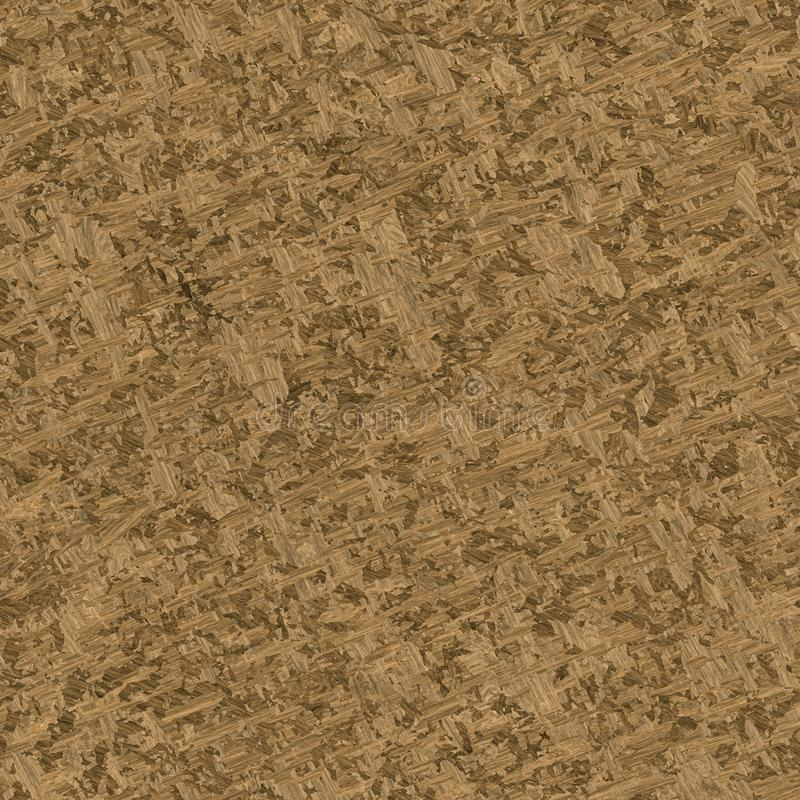 Wood particle board seamless texture stock illustration