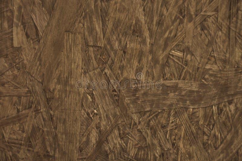 Particleboard de raads bruine houten horizontale achtergrond van het spaanplaatbureau royalty-vrije stock fotografie