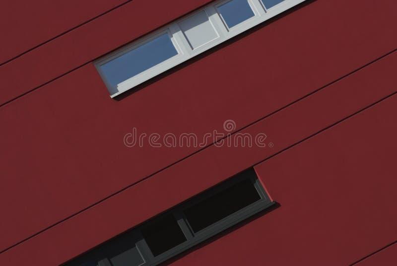 Particolare architettonico di una costruzione moderna fotografia stock