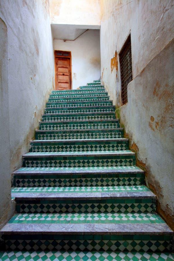 Particolare architettonico marocchino fotografie stock libere da diritti