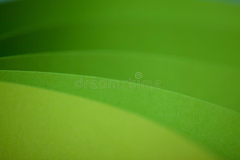 Particolare astratto della struttura fluttuata del documento colorato fotografia stock libera da diritti