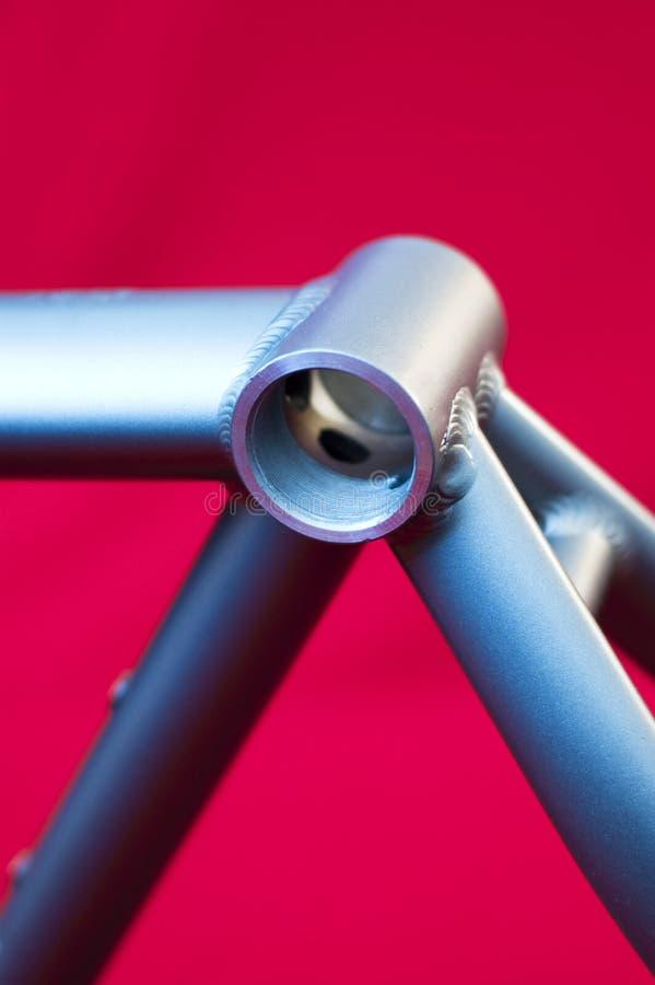 Particolare del blocco per grafici della bicicletta fotografie stock