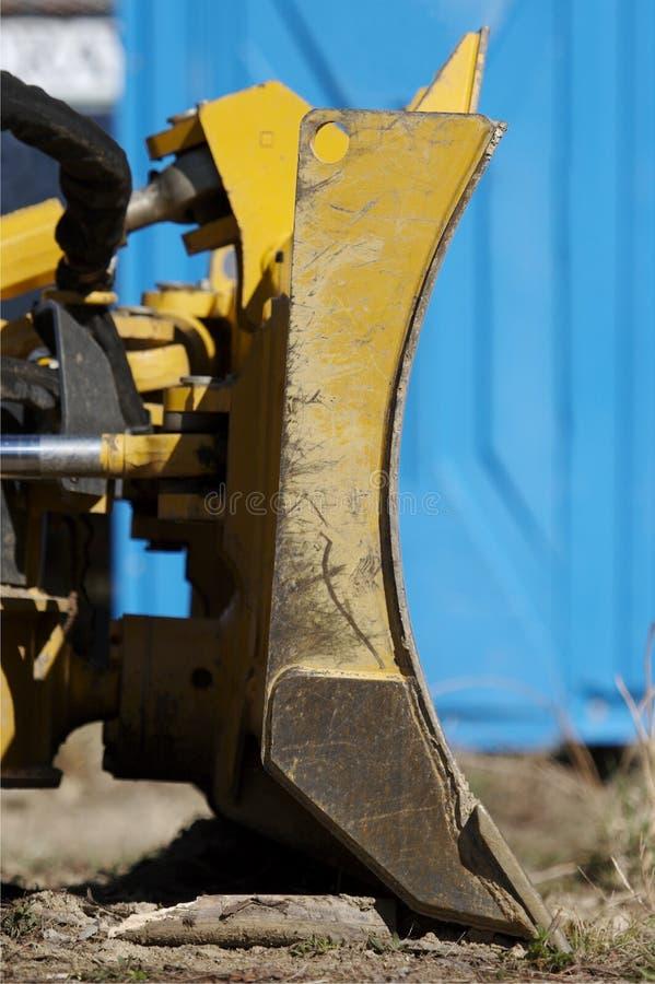 Particolare del bulldozer fotografia stock libera da diritti