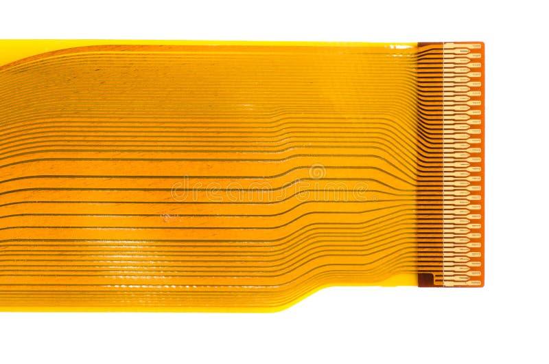 Particolare del circuito stampato flesso (FPC) immagini stock