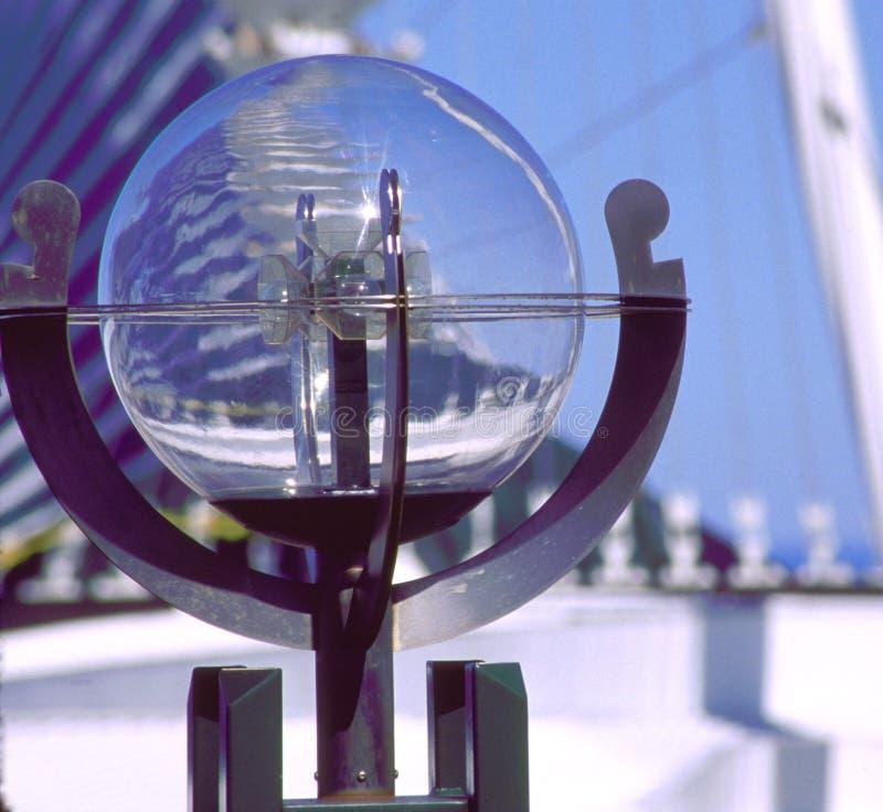 Particolare del globo dal calatrava fotografia stock