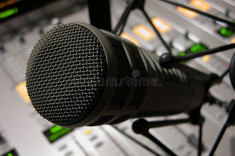 Particolare Del Microfono Fotografie Stock Libere da Diritti
