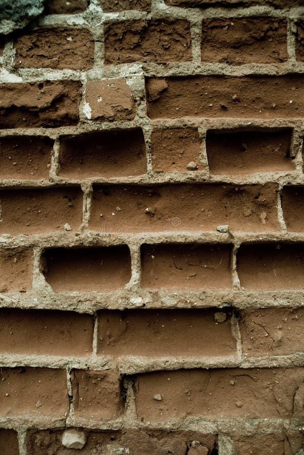 Particolare del muro di mattoni fotografie stock libere da diritti