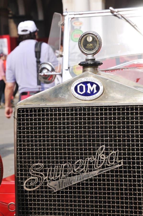Particolare del OM 1927 665 Superba fotografia stock