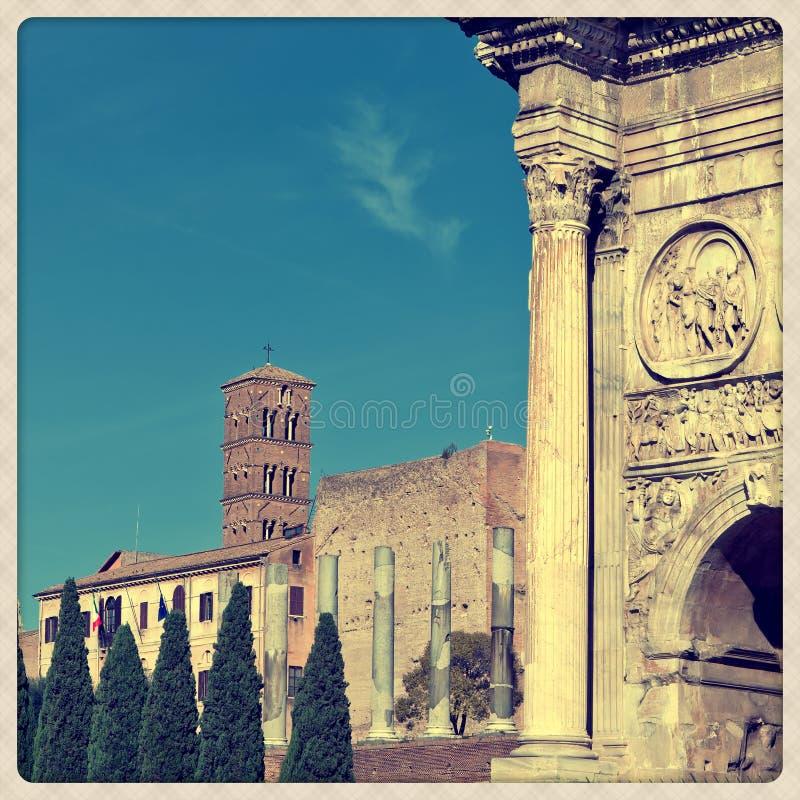 Arco di Costantina immagini stock