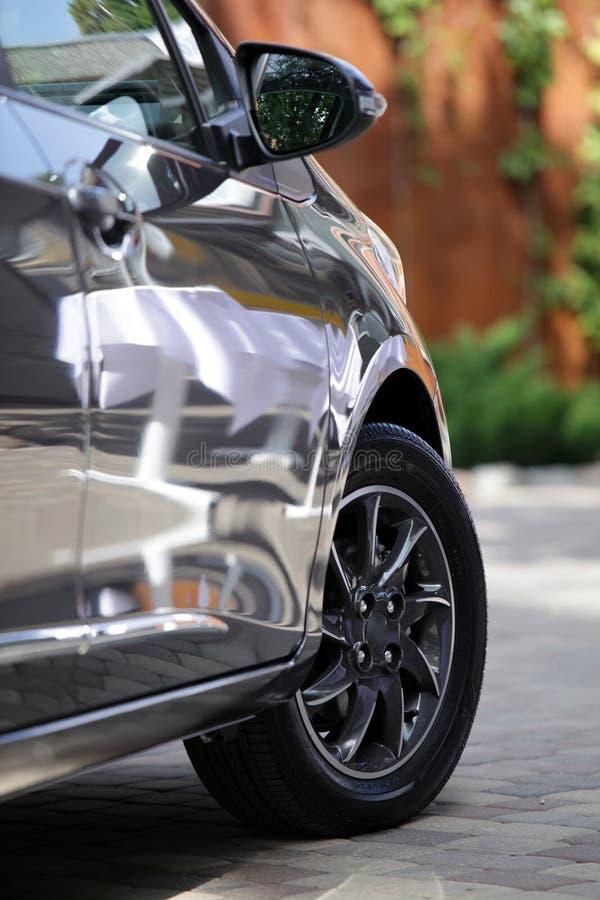Particolare dell'automobile immagini stock