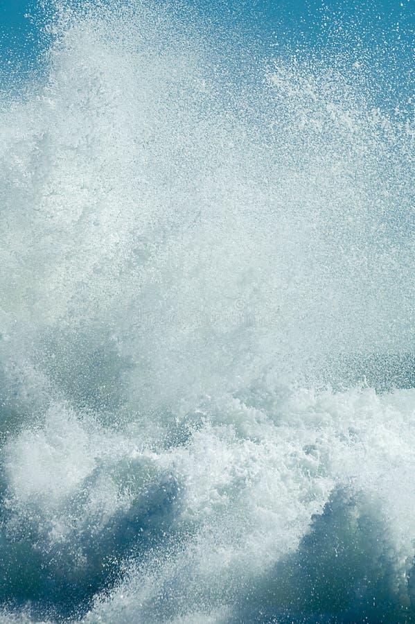 Particolare dell'onda di acqua fotografia stock