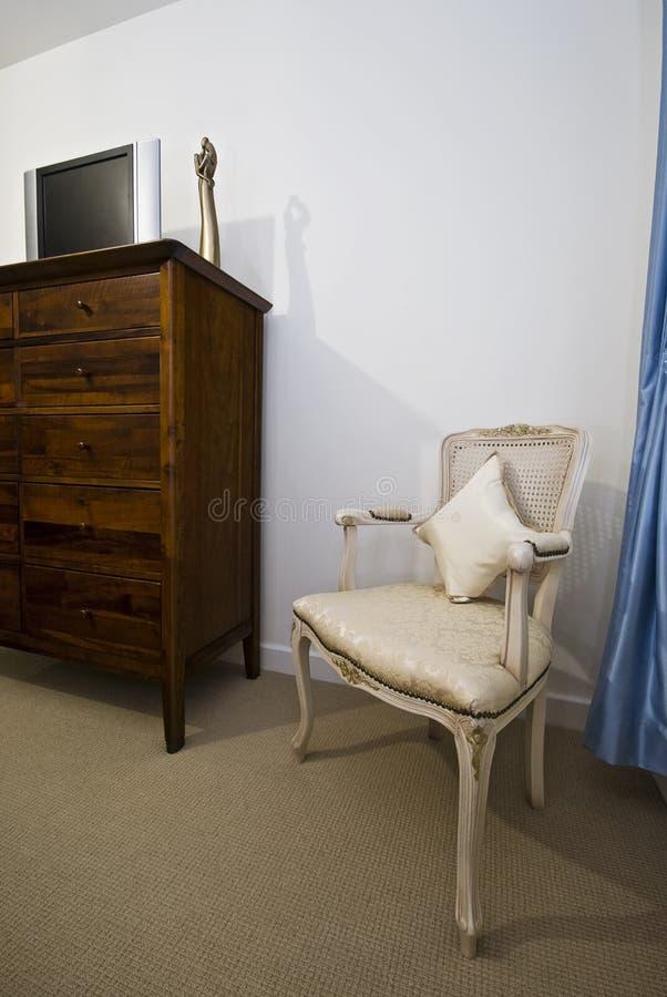 Particolare della camera da letto fotografia stock libera da diritti