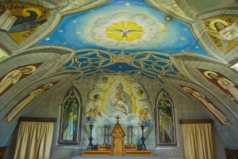 Particolare della cappella italiana immagini stock libere da diritti