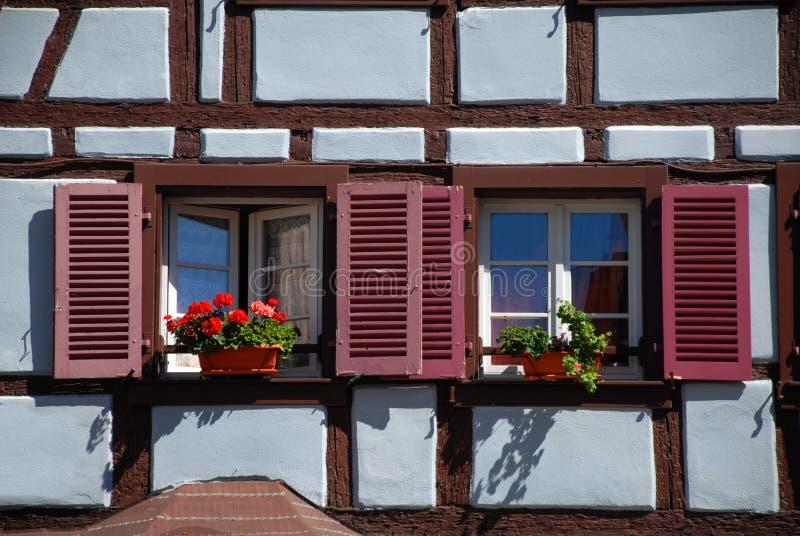 Download Particolare Della Casa A Colmar Fotografia Stock - Immagine di floreale, facade: 3894290
