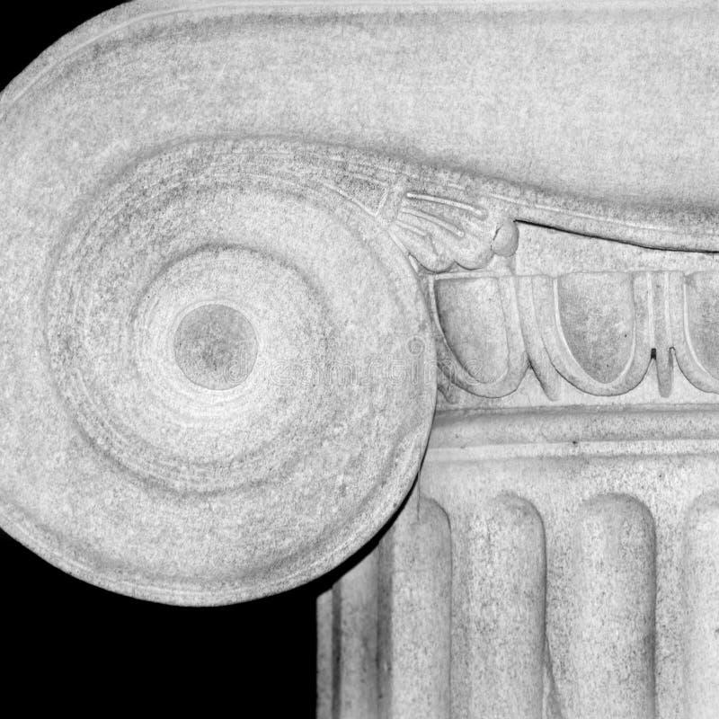 Download Particolare della colonna fotografia stock. Immagine di acropolis - 7303818