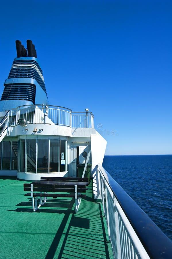 Particolare della nave da crociera fotografie stock