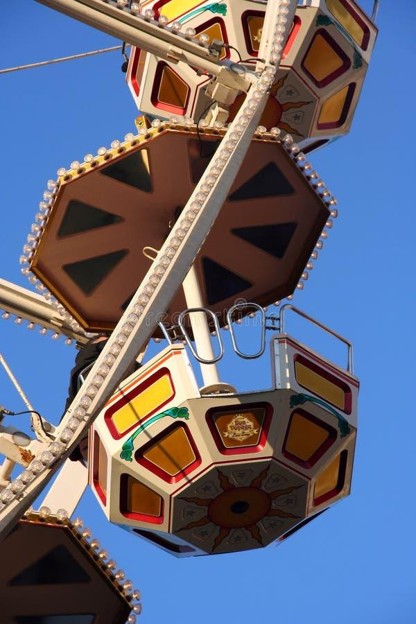 Particolare della rotella di Ferris fotografie stock libere da diritti