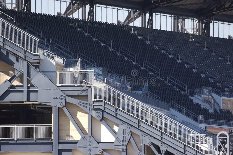 Particolare della sosta di baseball di Pittsburgh immagine stock libera da diritti