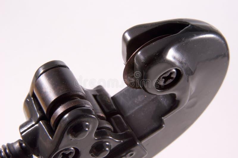 Particolare della taglierina di tubo fotografie stock