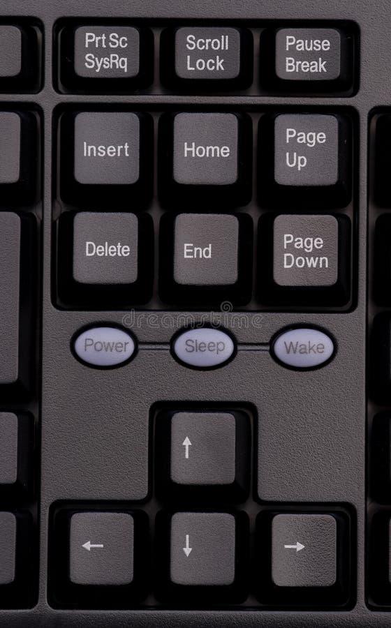 Particolare della tastiera immagini stock
