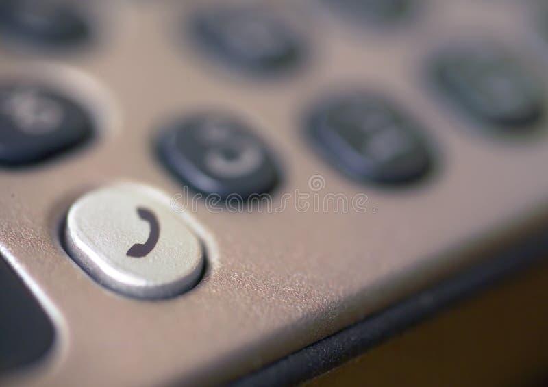 Particolare della tastiera del telefono mobile. immagini stock