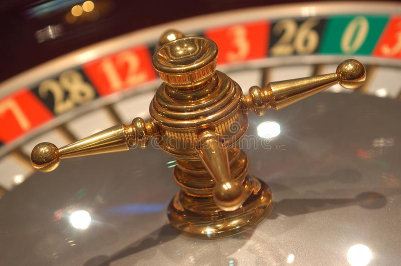 Dettaglio delle roulette fotografia stock libera da diritti