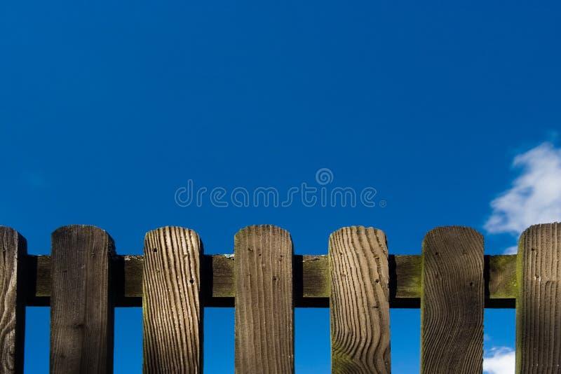 Particolare di legno della rete fissa fotografie stock libere da diritti