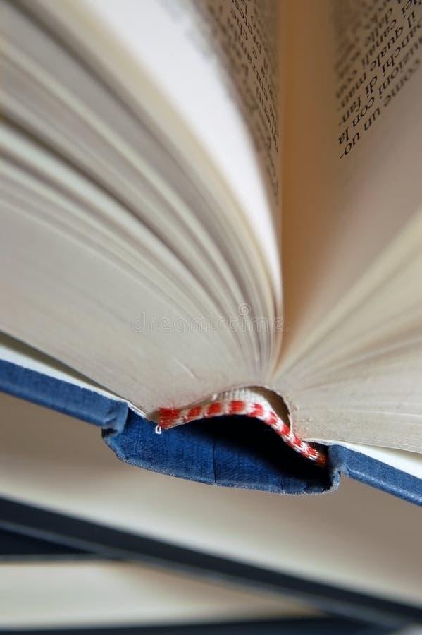 Particolare di un mucchio del libro fotografie stock libere da diritti