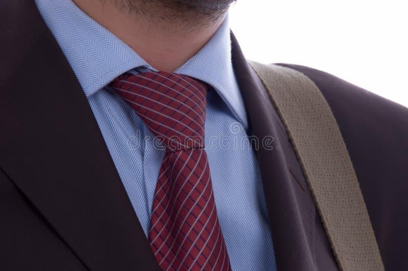 Dettaglio di un uomo di affari immagini stock libere da diritti