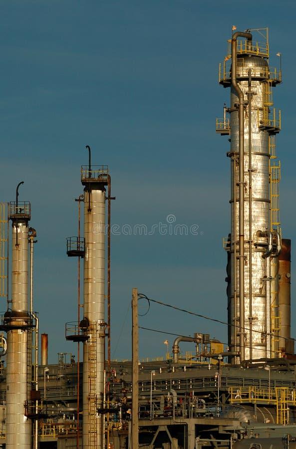 Particolare di una raffineria 15 fotografia stock