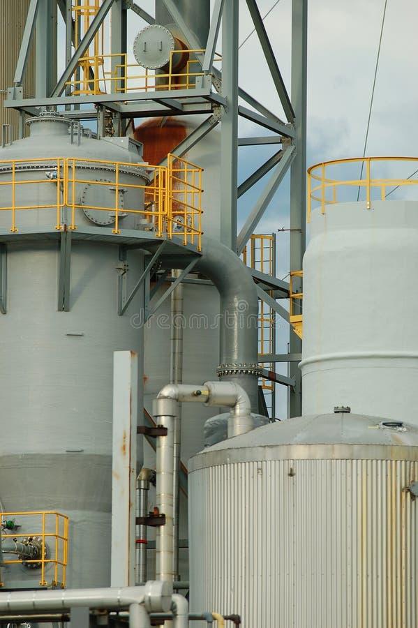 Particolare di una raffineria 2 immagini stock libere da diritti