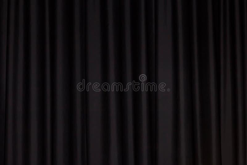 Tenda nera fotografia stock